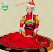 0034女蒙古袍
