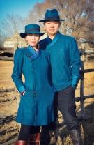 蒙古族情侣装